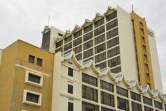 De Voorgevel van Hyatt Regency Kinabalu in Kota Kinabalu, Maleisië Stock Afbeeldingen