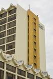 De Voorgevel van Hyatt Regency Kinabalu in Kota Kinabalu, Maleisië Stock Foto
