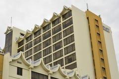 De Voorgevel van Hyatt Regency Kinabalu in Kota Kinabalu, Maleisië Stock Fotografie