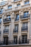 De voorgevel van Parijs Royalty-vrije Stock Afbeelding