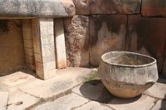 De voorhistorische tempel van Tarixen Stock Afbeelding