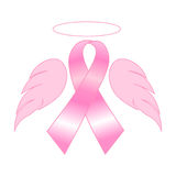 De voorlichting van borstkanker Stock Fotografie