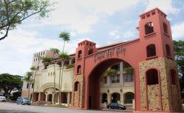 De voorpoort van hotelcasa del Rio royalty-vrije stock fotografie