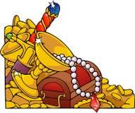 De Voorraad van de draak royalty-vrije illustratie