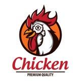 De voorraad van het kippenembleem Royalty-vrije Stock Afbeeldingen