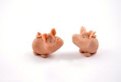 De voorraadbeelden van de varkensdecoratie Royalty-vrije Stock Foto's