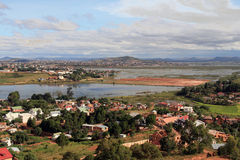 De voorstad van Antananarivo stock fotografie