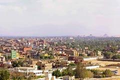De voorstad van Giza Stock Foto