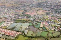 De voorstad van Manilla stock foto's