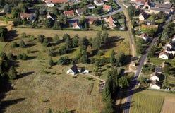 De voorsteden van het land van Frankrijk Stock Afbeelding
