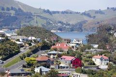 De Voorsteden van Nieuw Zeeland ` s Stock Afbeeldingen
