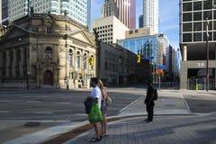De voorsteden van Toronto Stock Foto's