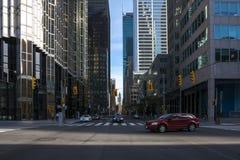 De voorsteden van Toronto Stock Afbeeldingen