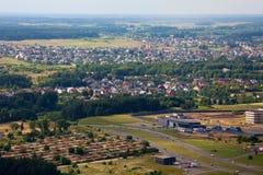 De voorsteden van Vilnius royalty-vrije stock foto