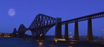 De vooruit Brug van het Spoor, Schotland royalty-vrije stock afbeeldingen