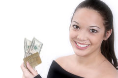 De Vooruitgang van het contante geld Royalty-vrije Stock Foto's