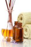 De voorwerpen van Aromatherapy stock foto