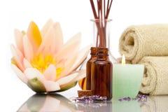 De voorwerpen van Aromatherapy royalty-vrije stock fotografie
