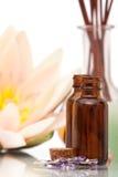 De voorwerpen van Aromatherapy royalty-vrije stock afbeeldingen