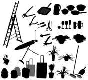 De voorwerpen van de keuken en anderen Stock Foto's