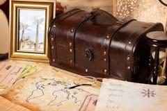 De voorwerpen van de reis Stock Fotografie