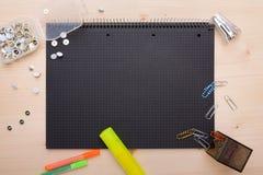 De voorwerpen van het bureau Stock Foto's
