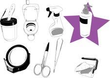 De voorwerpen van het huis vector illustratie