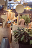 De voorwerpen van het keukenhuis Stock Afbeeldingen