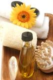 De voorwerpen van het kuuroord/van de massage Stock Foto