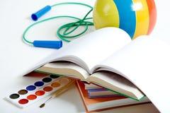De voorwerpen van het onderwijs Royalty-vrije Stock Foto