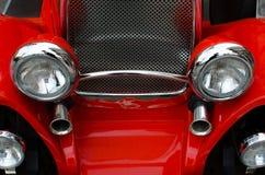 De voorzijde van de auto Stock Afbeeldingen