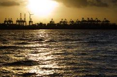 De Voorzijde van de haven Stock Afbeelding