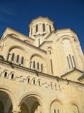 De voorzijde van de kathedraal Stock Fotografie