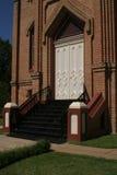 De Voorzijde van de kerk Stock Afbeeldingen