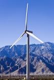 De Voorzijde van de Turbine van de wind Stock Afbeeldingen