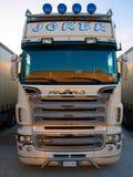 De voorzijde van de vrachtwagen Royalty-vrije Stock Foto