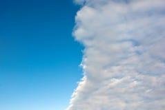 De voorzijde van de wolk Stock Foto's