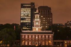De Zaal Philadelphia van de onafhankelijkheid royalty-vrije stock fotografie