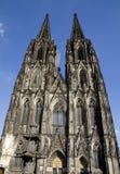 De Voorzijde van Duitsland van de Kathedraal van Keulen stock foto