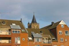 De voorzijde van een modern gebouw Royalty-vrije Stock Afbeelding