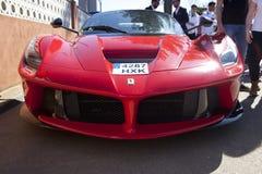De voorzijde van Ferrari LaFerrari Royalty-vrije Stock Foto's