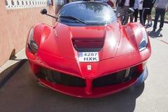 De voorzijde van Ferrari LaFerrari Stock Foto's