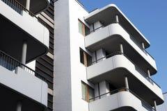 De voorzijde van het balkon Stock Afbeelding