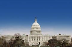 De voorzijde van het Capitool van de V.S. stock foto's
