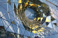 De voorzijde van het glas Stock Foto