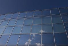 De voorzijde van het glas - de collectieve bouw Royalty-vrije Stock Foto