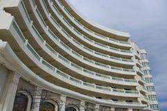 De voorzijde van het hotel Stock Fotografie