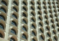 De voorzijde van het hotel Stock Foto