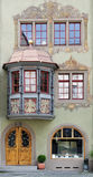 De voorzijde van het huis Royalty-vrije Stock Foto's