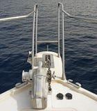 De Voorzijde van het Jacht Royalty-vrije Stock Afbeelding